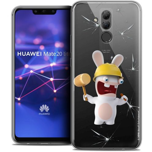 "Coque Gel Huawei Mate 20 Lite (6.3"") Extra Fine Lapins Crétins™ - Breaker"