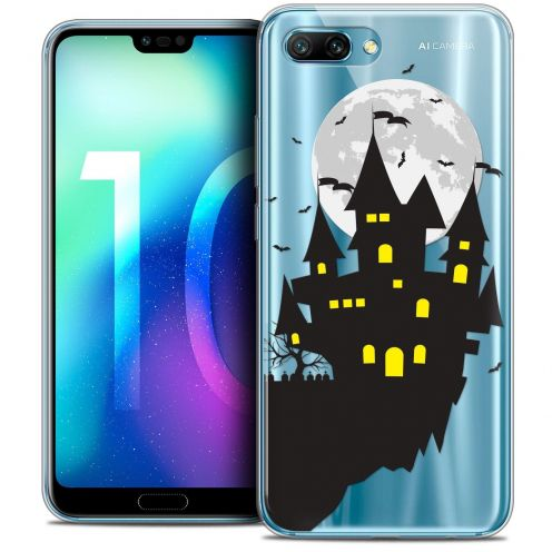 "Coque Crystal Gel Huawei Honor 10 (5.8"") Extra Fine Halloween - Castle Dream"
