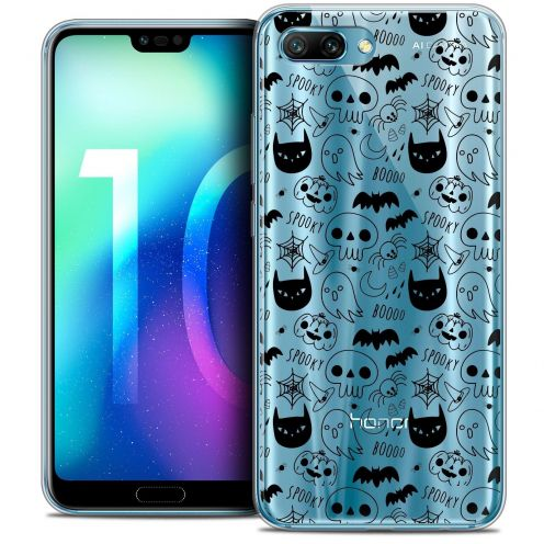"Coque Crystal Gel Huawei Honor 10 (5.8"") Extra Fine Halloween - Spooky"
