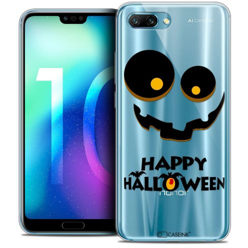 "Coque Crystal Gel Huawei Honor 10 (5.8"") Extra Fine Halloween - Happy"