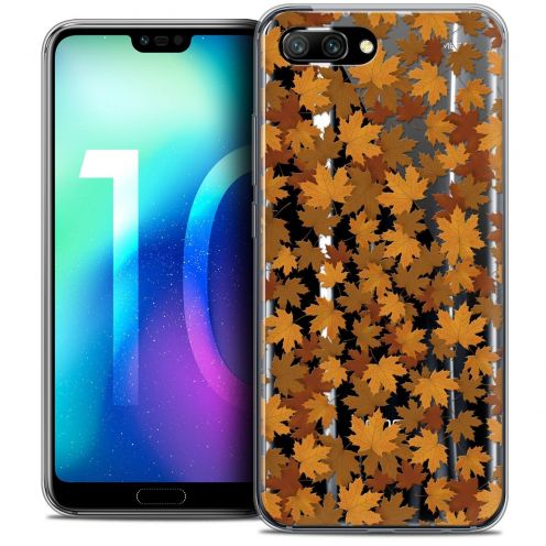 "Coque Crystal Gel Huawei Honor 10 (5.8"") Extra Fine Autumn 16 - Feuilles"