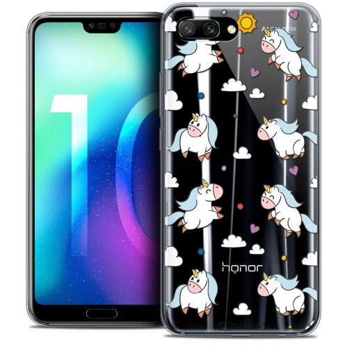 """Coque Crystal Gel Huawei Honor 10 (5.8"""") Extra Fine Fantasia - Licorne In the Sky"""