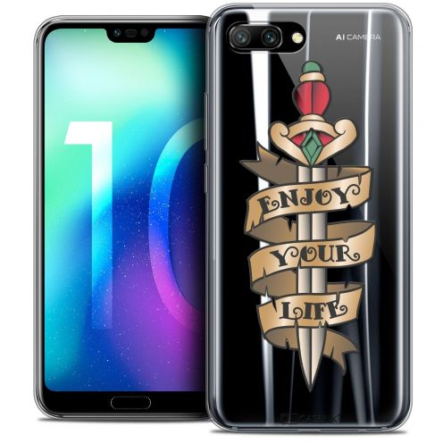 "Coque Crystal Gel Huawei Honor 10 (5.8"") Extra Fine Tatoo Lover - Enjoy Life"