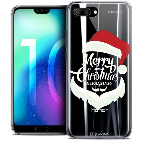 "Coque Crystal Gel Huawei Honor 10 (5.8"") Extra Fine Noël 2017 - Merry Everyone"