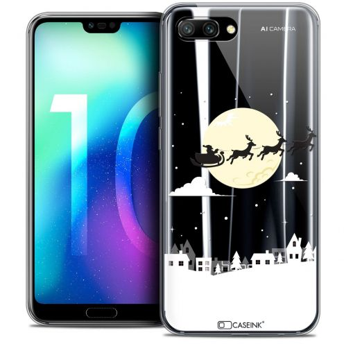 "Coque Crystal Gel Huawei Honor 10 (5.8"") Extra Fine Noël 2017 - Flying Stanta"