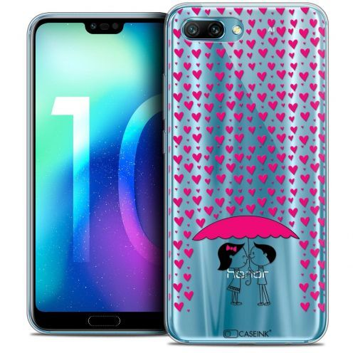 "Coque Crystal Gel Huawei Honor 10 (5.8"") Extra Fine Love - Pluie d'Amour"