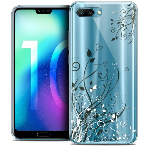 "Coque Crystal Gel Huawei Honor 10 (5.8"") Extra Fine Love - Hearts Flowers"