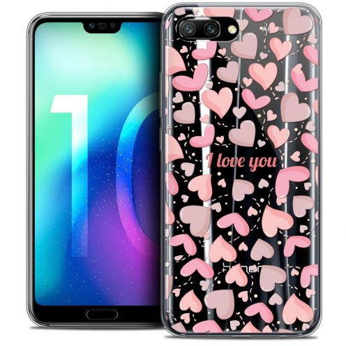 "Coque Crystal Gel Huawei Honor 10 (5.8"") Extra Fine Love - I Love You"