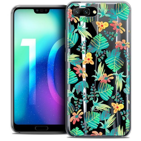 """Coque Crystal Gel Huawei Honor 10 (5.8"""") Extra Fine Spring - Tropical"""