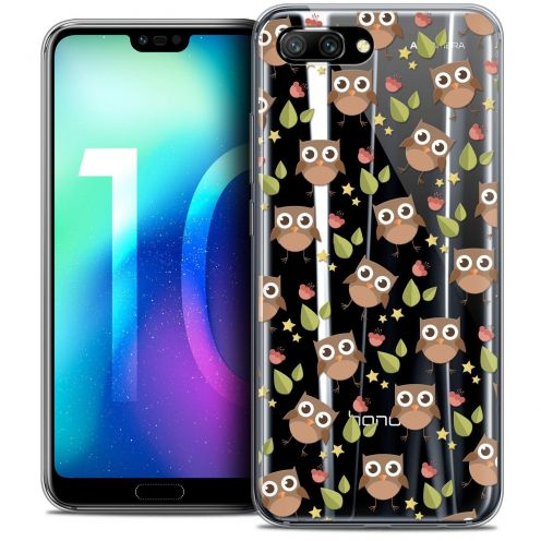 "Coque Crystal Gel Huawei Honor 10 (5.8"") Extra Fine Summer - Hibou"