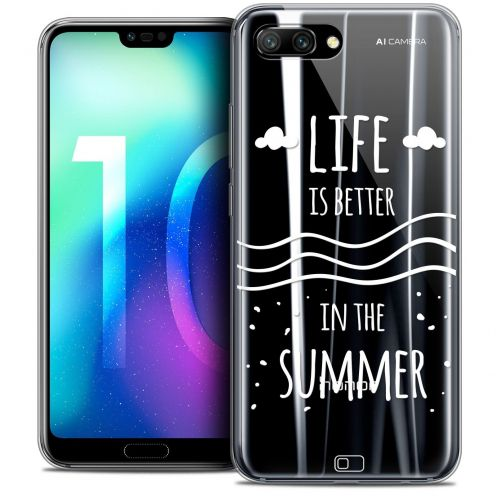"Coque Crystal Gel Huawei Honor 10 (5.8"") Extra Fine Summer - Life's Better"