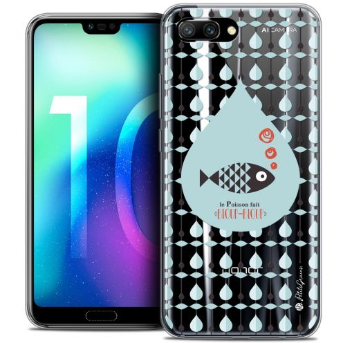 "Coque Gel Huawei Honor 10 (5.8"") Extra Fine Petits Grains® - Le Poisson"