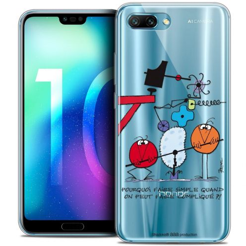 "Coque Gel Huawei Honor 10 (5.8"") Extra Fine Les Shadoks® - Pourquoi faire Simple"