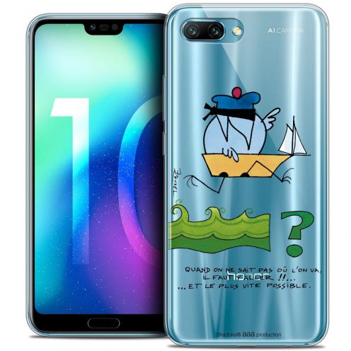 "Coque Gel Huawei Honor 10 (5.8"") Extra Fine Les Shadoks® - Il Faut Y Aller !!"