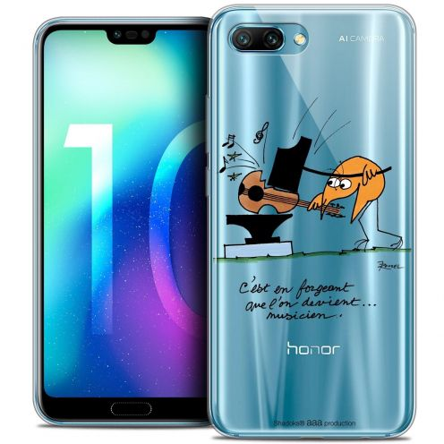 "Coque Gel Huawei Honor 10 (5.8"") Extra Fine Les Shadoks® - Musicien"