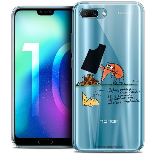 "Coque Gel Huawei Honor 10 (5.8"") Extra Fine Les Shadoks® - Le Travail"