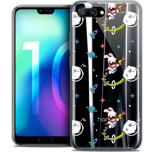 "Coque Gel Huawei Honor 10 (5.8"") Extra Fine Lapins Crétins™ - Space 2"