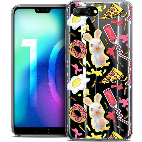 "Coque Gel Huawei Honor 10 (5.8"") Extra Fine Lapins Crétins™ - Egg Pattern"