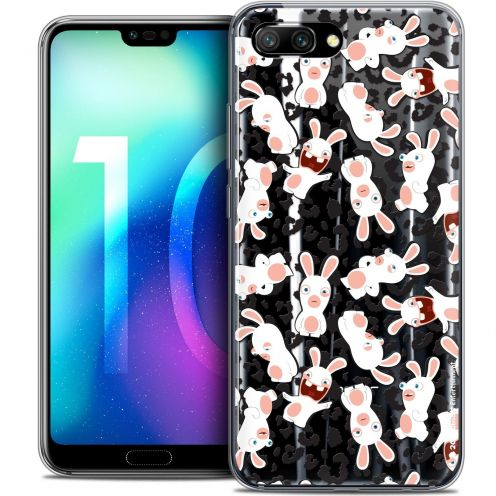 "Coque Gel Huawei Honor 10 (5.8"") Extra Fine Lapins Crétins™ - Leopard Pattern"