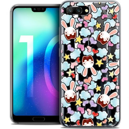 "Coque Gel Huawei Honor 10 (5.8"") Extra Fine Lapins Crétins™ - Love Pattern"