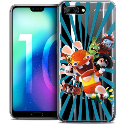 "Coque Gel Huawei Honor 10 (5.8"") Extra Fine Lapins Crétins™ - Super Heros"