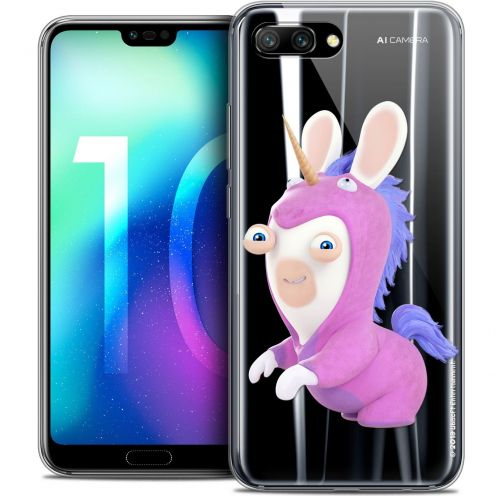 "Coque Gel Huawei Honor 10 (5.8"") Extra Fine Lapins Crétins™ - Licorne"