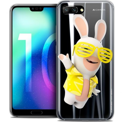 "Coque Gel Huawei Honor 10 (5.8"") Extra Fine Lapins Crétins™ - Sun Glassss!"