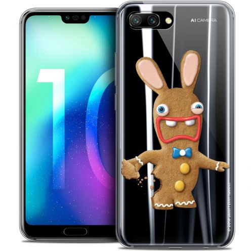 "Coque Gel Huawei Honor 10 (5.8"") Extra Fine Lapins Crétins™ - Cookie"