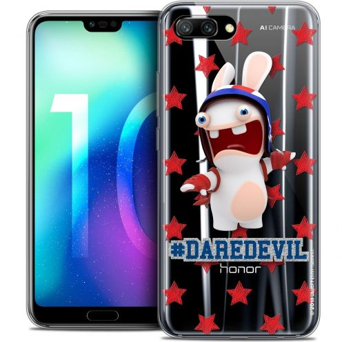 "Coque Gel Huawei Honor 10 (5.8"") Extra Fine Lapins Crétins™ - Dare Devil"
