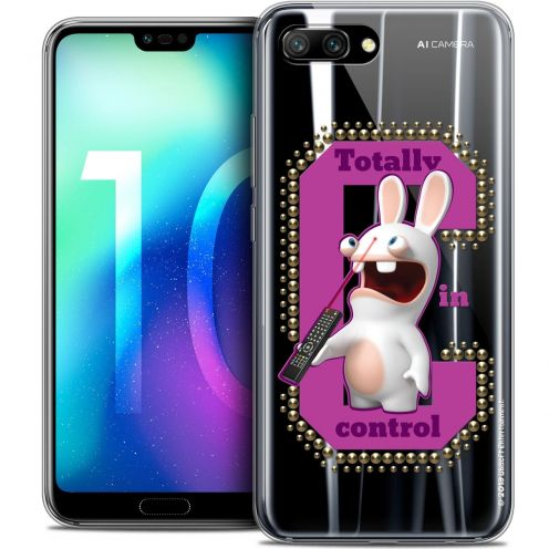 "Coque Gel Huawei Honor 10 (5.8"") Extra Fine Lapins Crétins™ - In Control !"