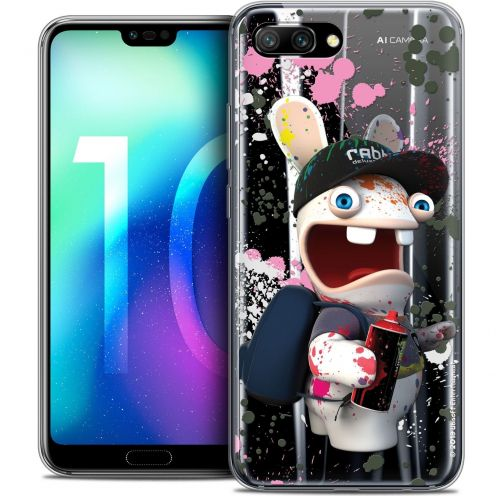 "Coque Gel Huawei Honor 10 (5.8"") Extra Fine Lapins Crétins™ - Painter"