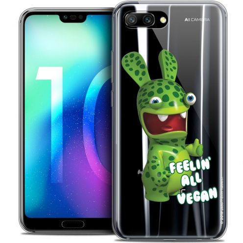 "Coque Gel Huawei Honor 10 (5.8"") Extra Fine Lapins Crétins™ - Vegan"