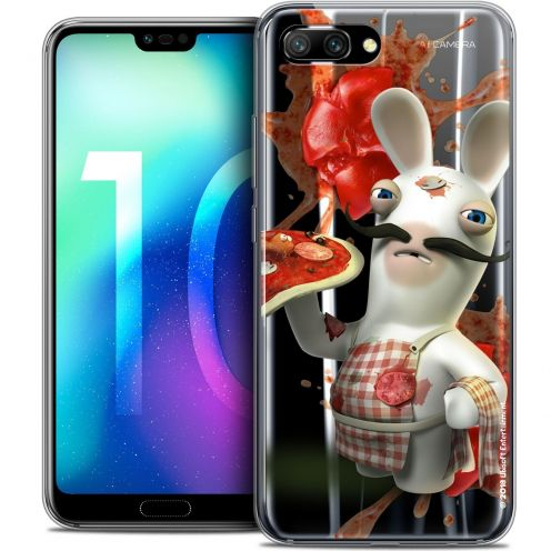 "Coque Gel Huawei Honor 10 (5.8"") Extra Fine Lapins Crétins™ - Cuisinier"