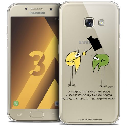 Coque Samsung Galaxy A3 2017 (A320) Extra Fine Les Shadoks® - A Force