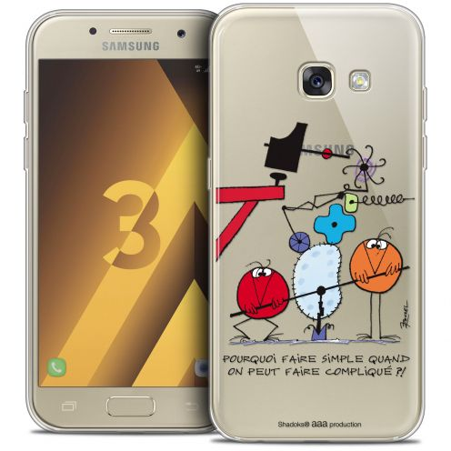 Coque Samsung Galaxy A3 2017 (A320) Extra Fine Les Shadoks® - Pourquoi faire Simple