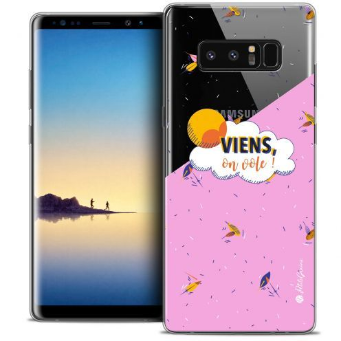 "Coque Gel Samsung Galaxy Note 8 (6.3"") Extra Fine Petits Grains® - VIENS, On Vole !"