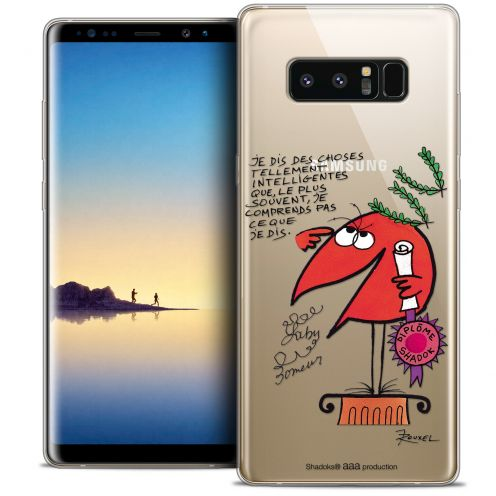 "Coque Gel Samsung Galaxy Note 8 (6.3"") Extra Fine Les Shadoks® - Intelligent"