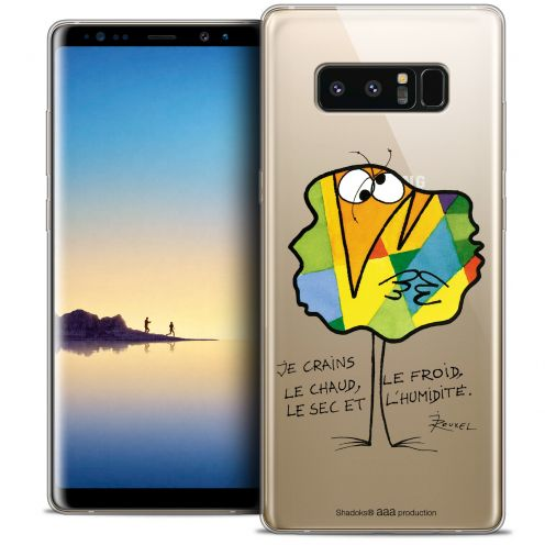 """Coque Gel Samsung Galaxy Note 8 (6.3"""") Extra Fine Les Shadoks® - Chaud ou Froid"""