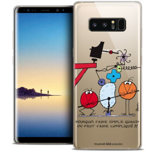 """Coque Gel Samsung Galaxy Note 8 (6.3"""") Extra Fine Les Shadoks® - Pourquoi faire Simple"""