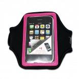 Visuel unique de Brassard Sport en Néoprène iPhone 3G / iPhone 4 / 4S / Touch Rose