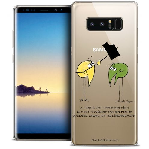 "Coque Gel Samsung Galaxy Note 8 (6.3"") Extra Fine Les Shadoks® - A Force"