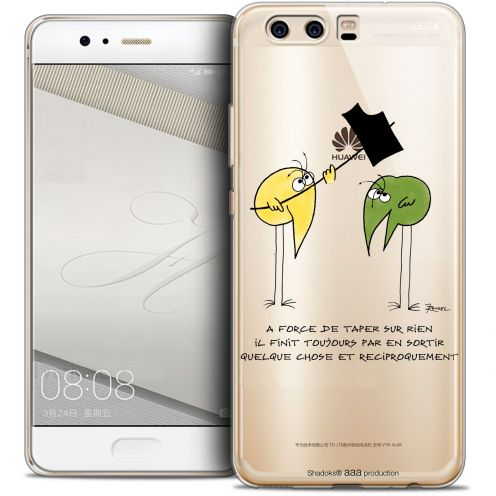 Coque Gel Huawei P10 Extra Fine Les Shadoks® - A Force