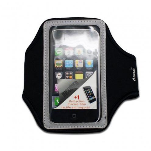 Brassard Sport en Néoprène iPhone 3G / iPhone 4 / 4S / Touch Gris