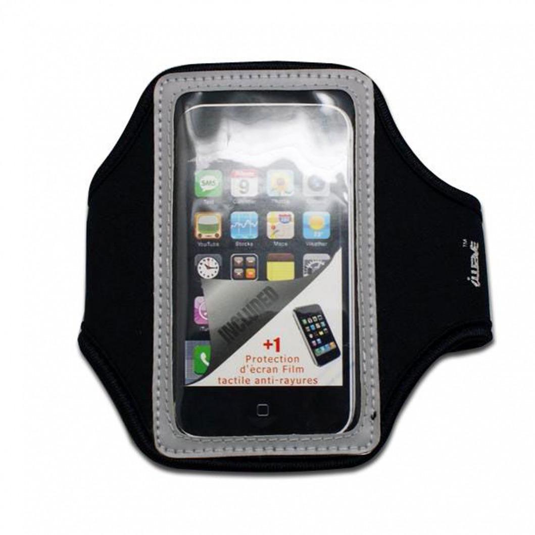 brassard sport en n opr ne iphone 3g iphone 4 4s touch gris. Black Bedroom Furniture Sets. Home Design Ideas
