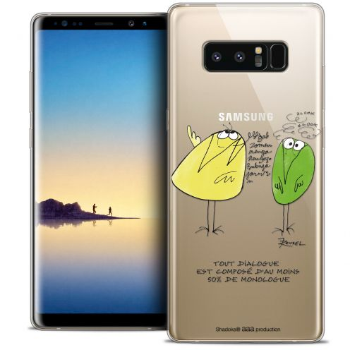 "Coque Gel Samsung Galaxy Note 8 (6.3"") Extra Fine Les Shadoks® - Le Dialogue"