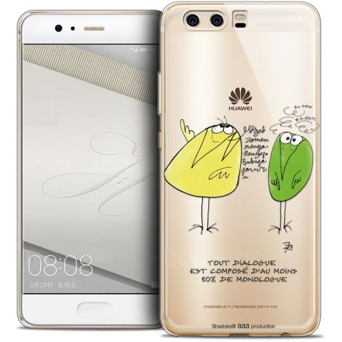 Coque Gel Huawei P10 Extra Fine Les Shadoks® - Le Dialogue
