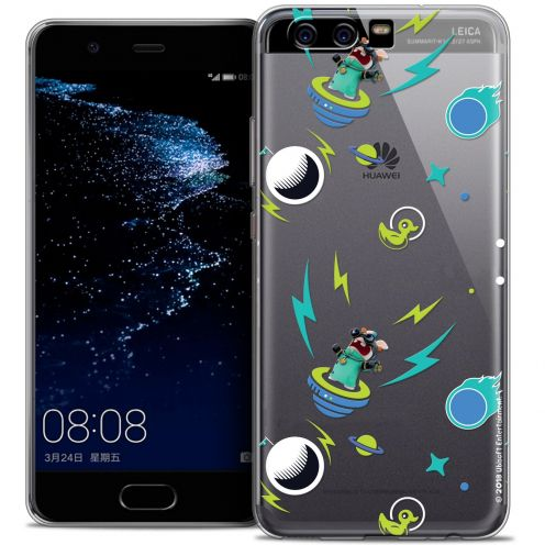 Coque Gel Huawei P10 Extra Fine Lapins Crétins™ - Space 1