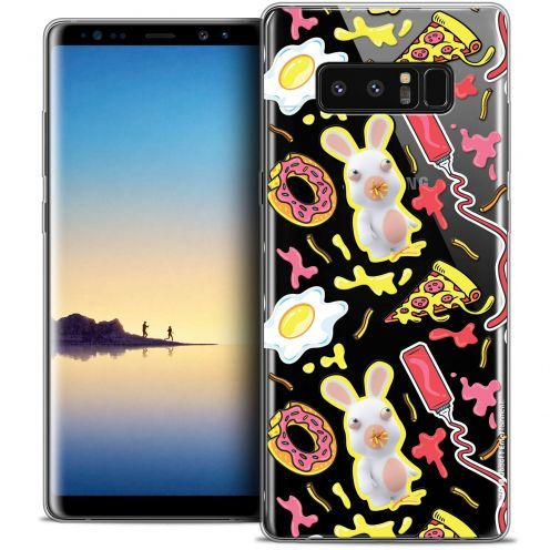 """Coque Gel Samsung Galaxy Note 8 (6.3"""") Extra Fine Lapins Crétins™ - Egg Pattern"""