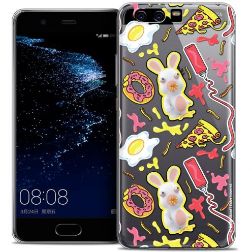 Coque Gel Huawei P10 Extra Fine Lapins Crétins™ - Egg Pattern