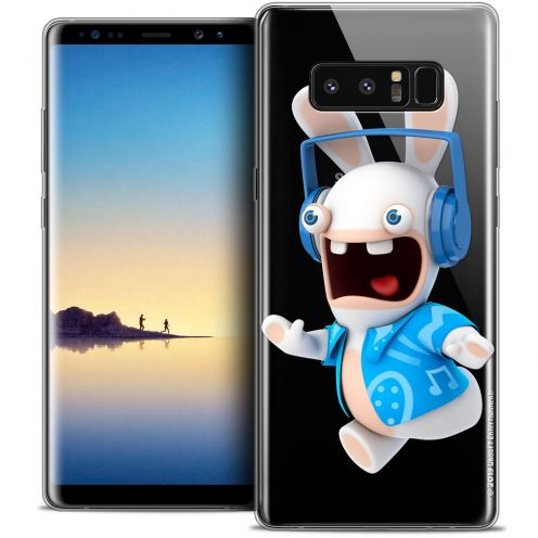"""Coque Gel Samsung Galaxy Note 8 (6.3"""") Extra Fine Lapins Crétins™ - Techno Lapin"""